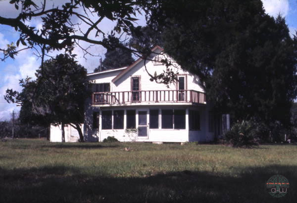 The Blackburn home Old Miakka Florida; Photo courtesy State Archives of Florida