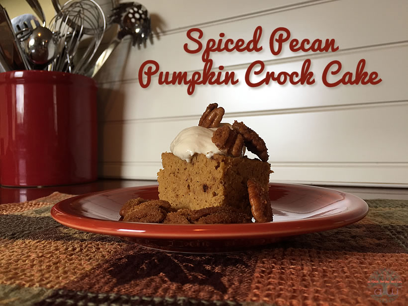 Pumpkin Crock Cake 820A