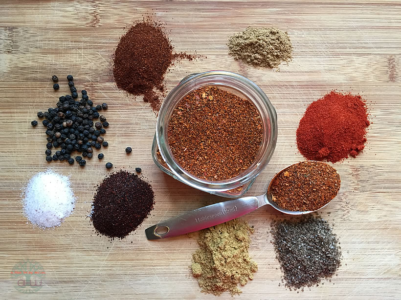 A Mixture of Taco Seasonings